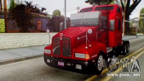 Kenworth T600 Aerocab 72 Sleeper para GTA San Andreas