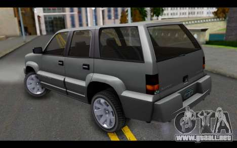 GTA 5 Albany Cavalcade IVF para GTA San Andreas left