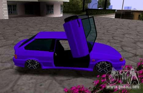 VAZ 2113 KBR para la visión correcta GTA San Andreas