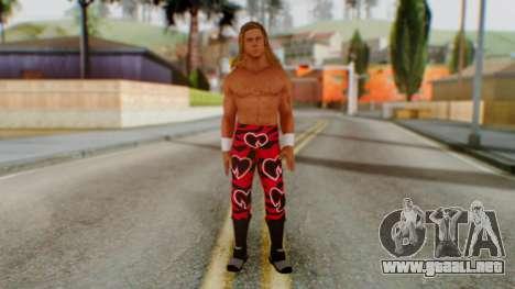 WWE HBK 1 para GTA San Andreas segunda pantalla