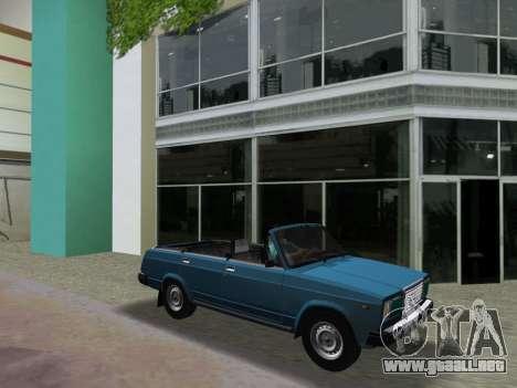 VAZ 21047 Convertible para GTA Vice City vista interior