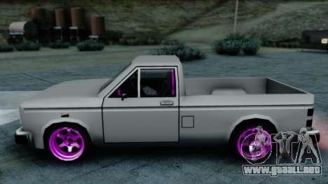 Bobcat Drift para GTA San Andreas vista posterior izquierda