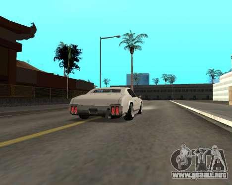 Sabre Boso para la visión correcta GTA San Andreas
