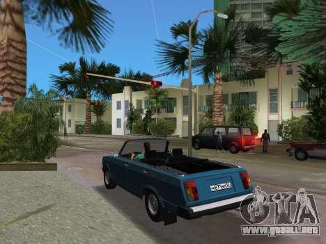 VAZ 21047 Convertible para GTA Vice City vista lateral izquierdo