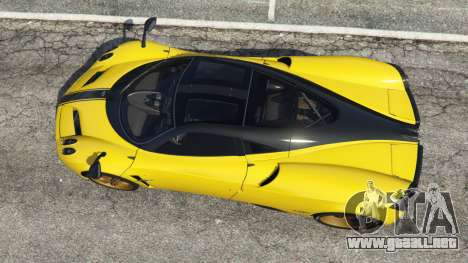 Pagani Huayra 2013 v1.1 [yellow rims] para GTA 5