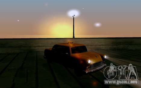 Realistic ENB v1.2.1 para GTA San Andreas quinta pantalla
