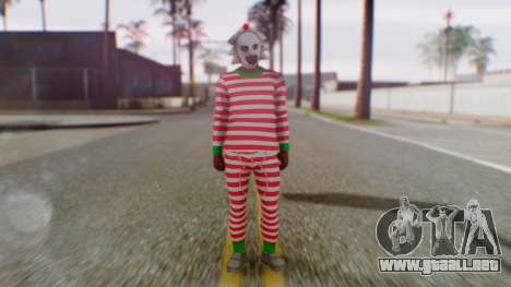 GTA Online Festive Surprise Skin 3 para GTA San Andreas segunda pantalla