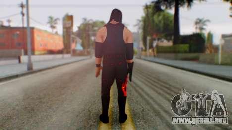 WWE Kane para GTA San Andreas tercera pantalla