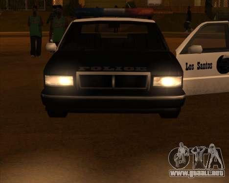 Vehículo Nuevo.txd v2 para GTA San Andreas tercera pantalla