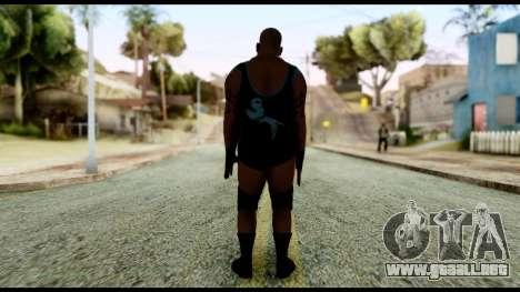 WWE Tensai para GTA San Andreas tercera pantalla