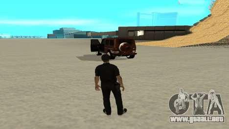 Una salida rápida de transporte para GTA San Andreas