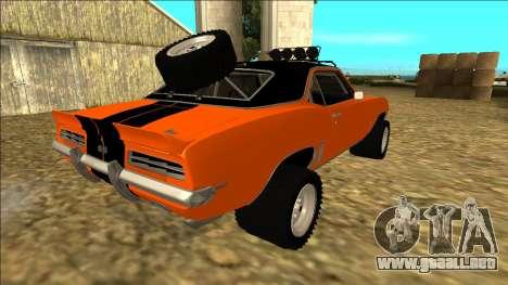 Chevrolet Camaro SS Rusty Rebel para las ruedas de GTA San Andreas