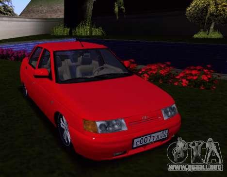 VAZ 2110 KBR para visión interna GTA San Andreas