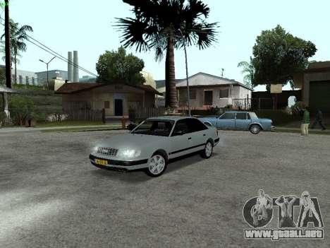 Audi 100 C4 1992 para vista lateral GTA San Andreas