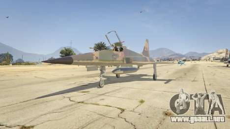 GTA 5 Northrop F-5E Tiger II FAB
