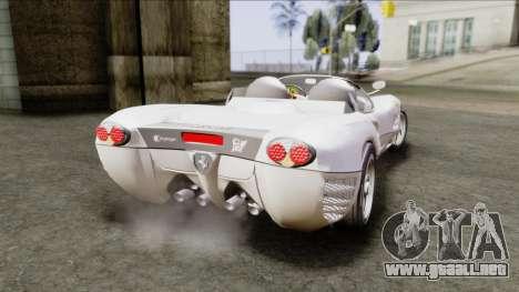 Ferrari P7 Yrid para GTA San Andreas left