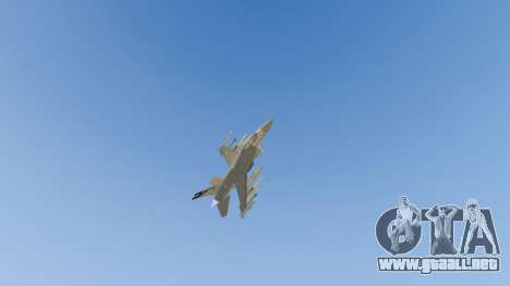 GTA 5 F-16C Fighting Falcon octavo captura de pantalla