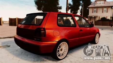 Volkswagen Golf VR6 1998 DTD Tuned para GTA 4 left