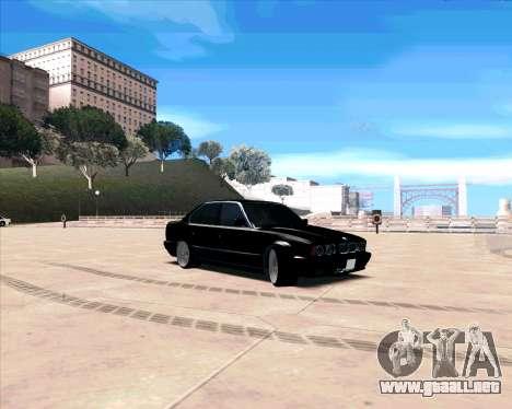 BMW 5-er E34 para GTA San Andreas