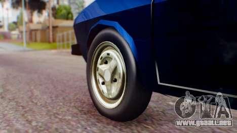 Dacia 1300 v2 para GTA San Andreas vista posterior izquierda