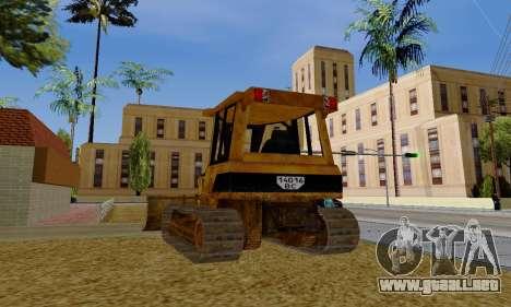 New Dozer para la visión correcta GTA San Andreas
