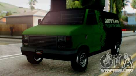 GTA 5 Brute Pony Smoke on the Water para GTA San Andreas