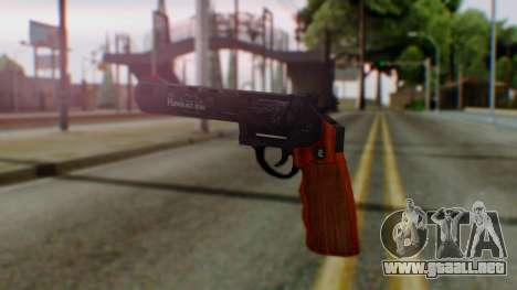 GTA 5 Bodyguard Revolver para GTA San Andreas segunda pantalla