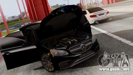 Mercedes-Benz E63 AMG PML Edition para vista lateral GTA San Andreas