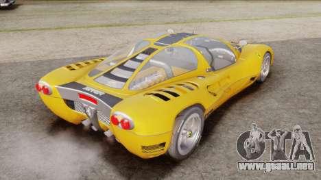 Ferrari P7 Normal para GTA San Andreas left