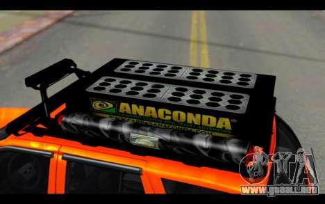 Chevrolet Traiblazer Off-Road para vista lateral GTA San Andreas