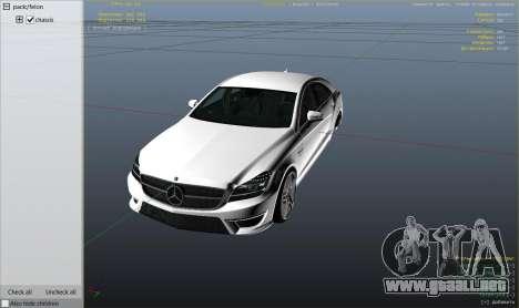 Mercedes-Benz CLS 6.3 AMG 1.1 para GTA 5