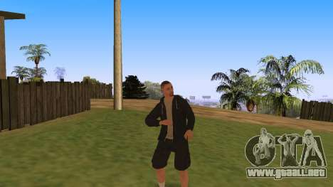 Time Animation para GTA San Andreas segunda pantalla