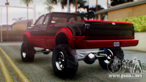 GTA 5 Vapid Sandking SWB IVF para GTA San Andreas left