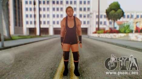 WWE Jack Swagger para GTA San Andreas segunda pantalla