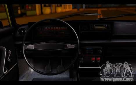 Zastava 125PZ Taxi para GTA San Andreas vista posterior izquierda