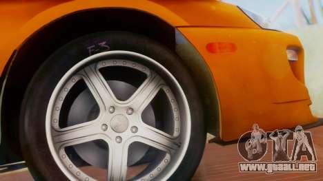 Toyota Supra TRD 1998 para la visión correcta GTA San Andreas
