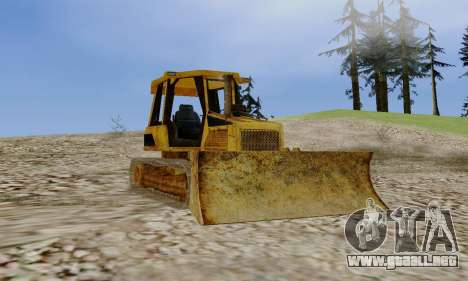 New Dozer para GTA San Andreas