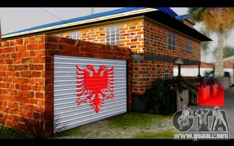 New CJ House para GTA San Andreas sucesivamente de pantalla