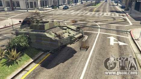 GTA 5 FV510 Warrior vista lateral derecha