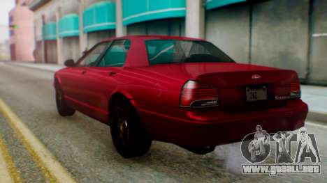 GTA 5 Vapid Stanier II para GTA San Andreas left