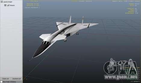 GTA 5 XB-70 Valkyrie noveno captura de pantalla