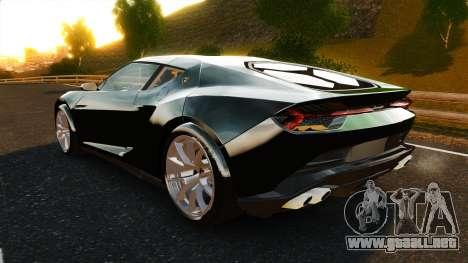 Lamborghini Asterion LP900 para GTA 4 Vista posterior izquierda