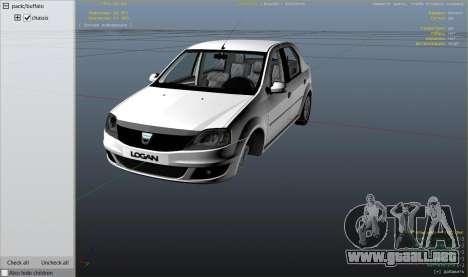Rueda de GTA 5 2008 Dacia Logan v2.0 FINAL