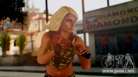 WWE Kaitlyn para GTA San Andreas