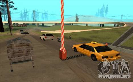 Personalizado para GTA San Andreas sucesivamente de pantalla