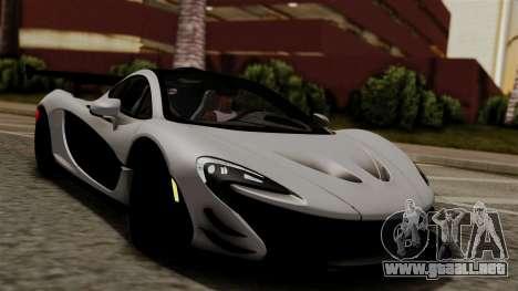 McLaren P1 GTR-VS 2013 para la visión correcta GTA San Andreas