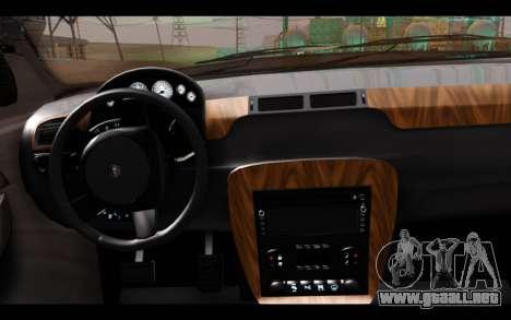 GTA 5 Declasse Sheriff Granger IVF para GTA San Andreas vista posterior izquierda