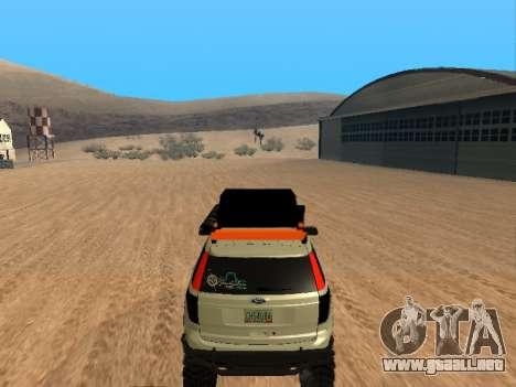 Ford Explorer 2013 Off Road para la visión correcta GTA San Andreas