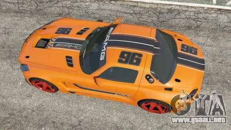 GTA 5 Mercedes-Benz SLS AMG GT3 vista trasera