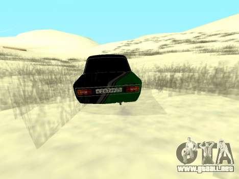 Vaz 2106 Ex animo Deporte para GTA San Andreas left